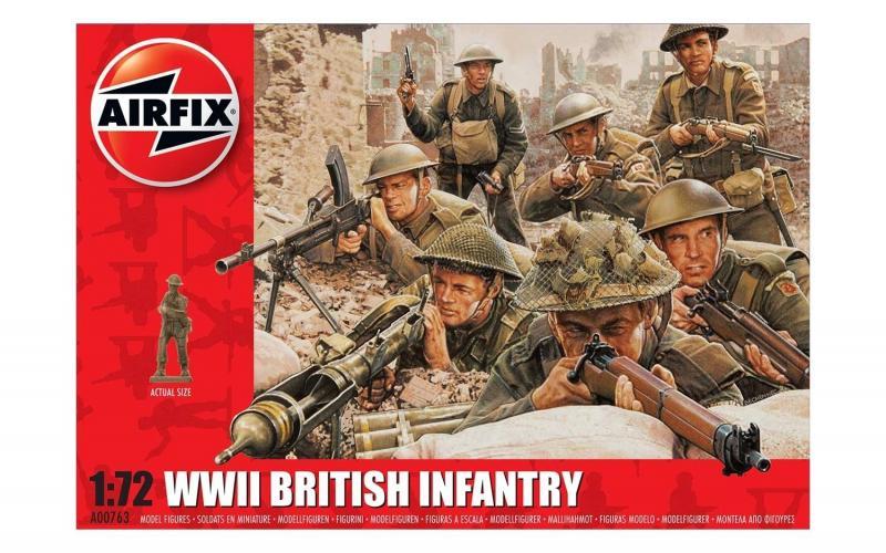 WWII British Infantry N.Europe