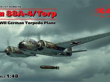 Ju 88A-4 Torp/A-17 WWII German Torpedo Plane