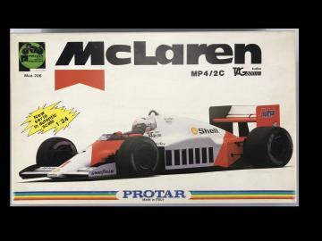McLaren MP4/2c TAG turbo