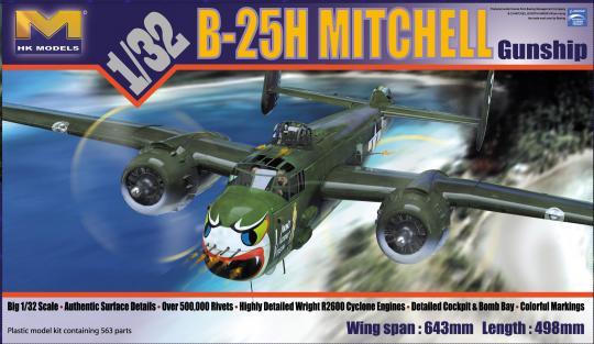 B-25H Mitchell Gunship