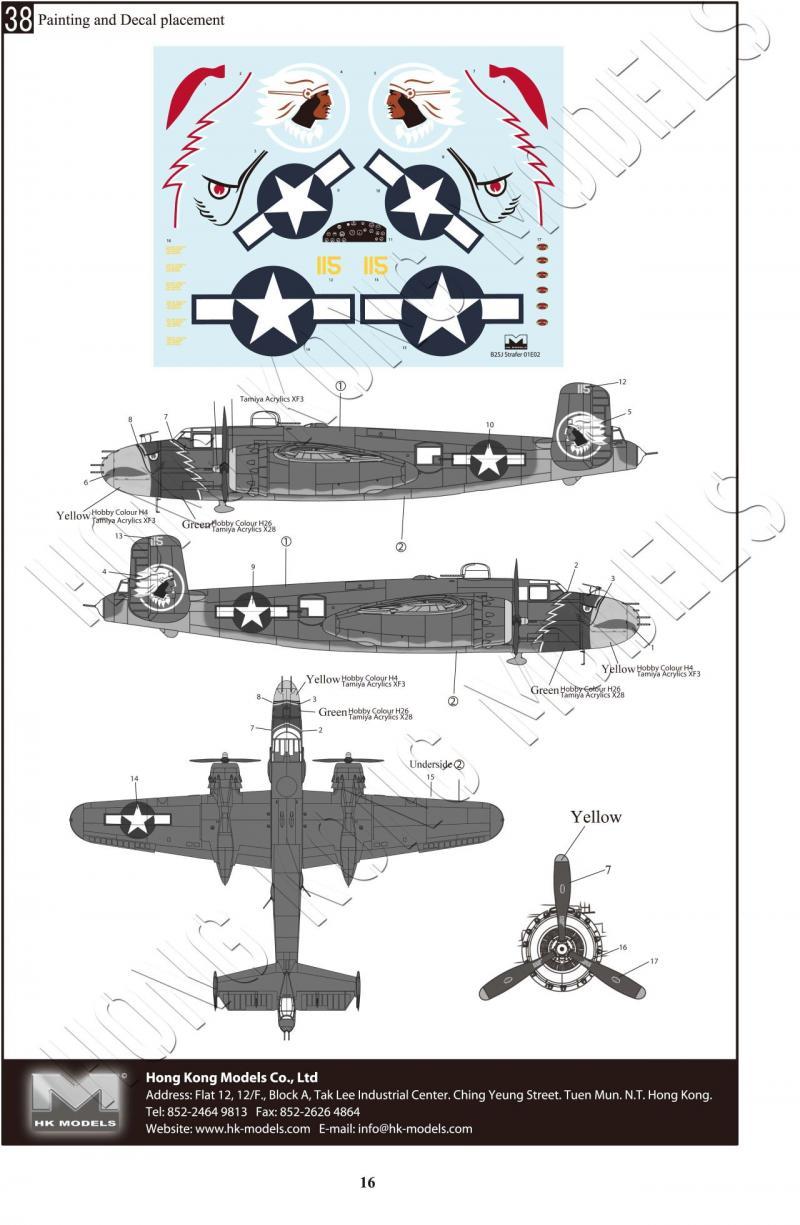 B-25J Mitchell The Strafer