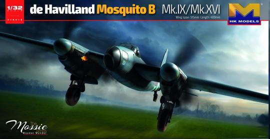 de Havilland Mosquito B Mk.IX/Mk.XVI