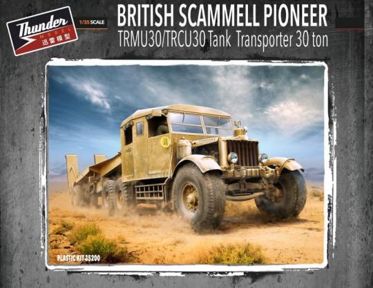 Scammel Pioneer TRMU30/TRCU30  Tank Transporter