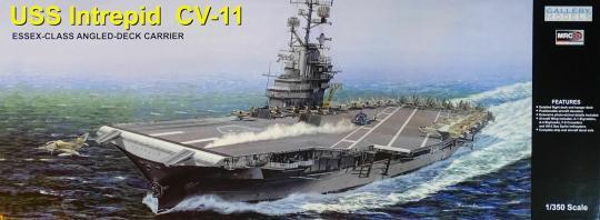 USS Intrepid CV11 ESSEX-CLASS ANGLED-DECK CARRIER