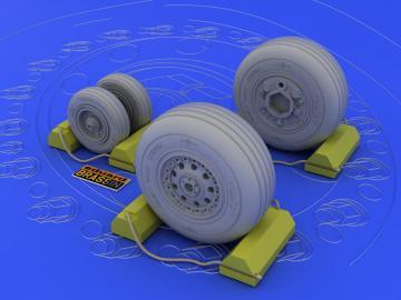 F-4J/ S wheels 1/32