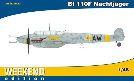 Bf 110F Nachtjäger Weekend edition