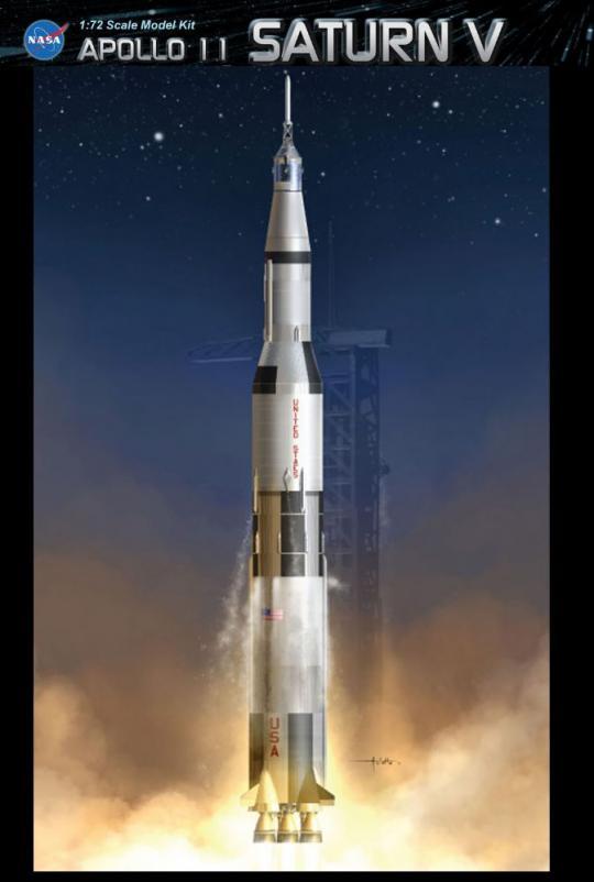 1:72 Apollo 11 Saturn V