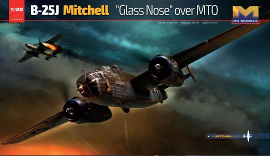 B-25J Glass Nose over MTO