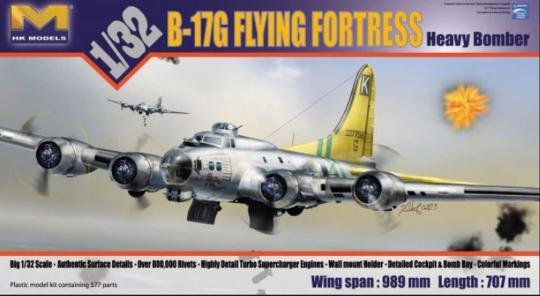 B-17G Flying Fortress Heavy Bomber