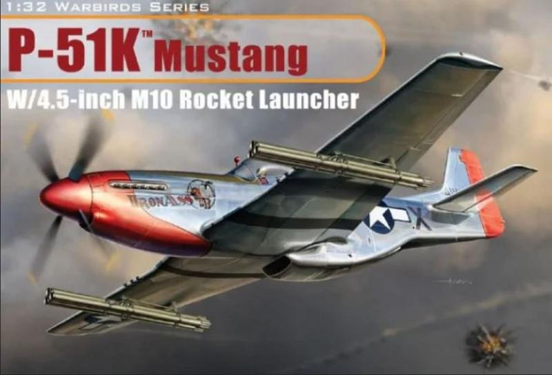 North American P-51K Mustang w/4.5 inch M10 Rocket Launcher
