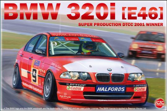 BMW 320i E46 Super Production DTCC 2001 Winner