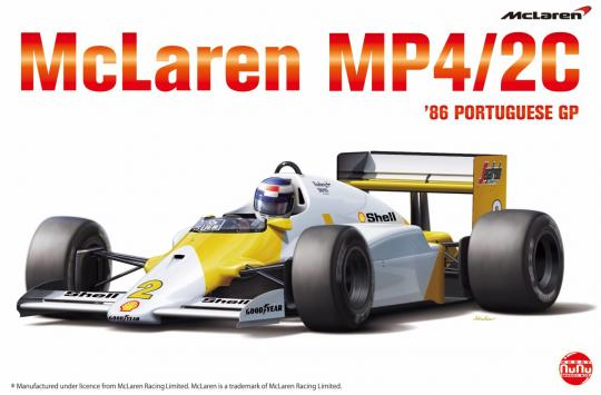 Mclaren MP4 2C '86 PORTUGUESE GP