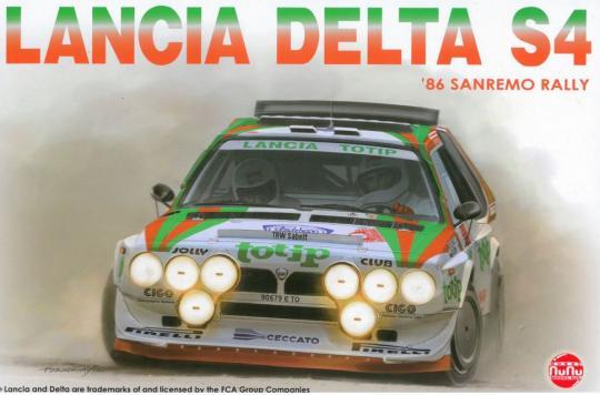 LANCIA DELTA S4  1986 SANREMO RALLY