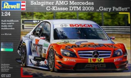 Salzgitter AMG Mercedes C-Klasse DTM 2009 Gary Paffett