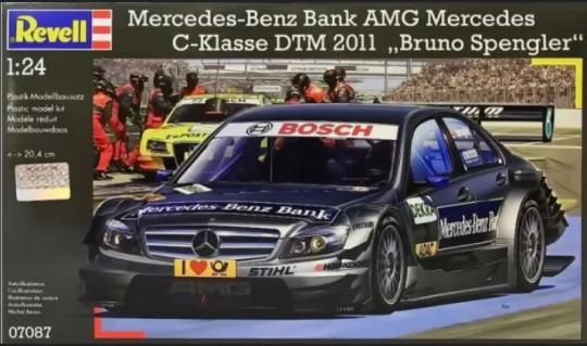 Mercedes-Benz Bank AMG Mercedes C-Klasse DTM 2011 Bruno Spengler