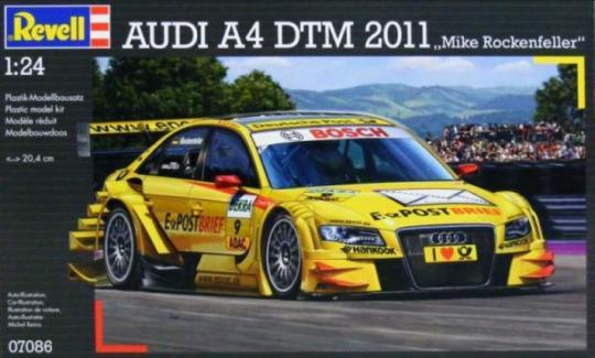 Audi A4 DTM 2011 Mike Rockenfeller
