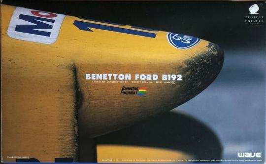 Benneton Ford B192