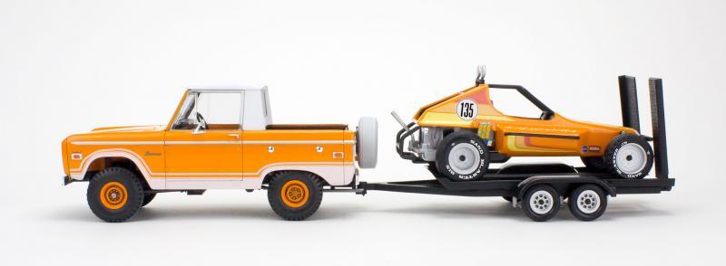 Ford Bronco Half Cab -Sandman II