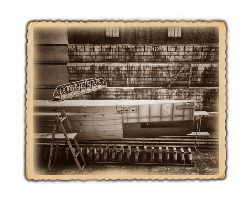 Trockendock mit Hochwertigen Prints