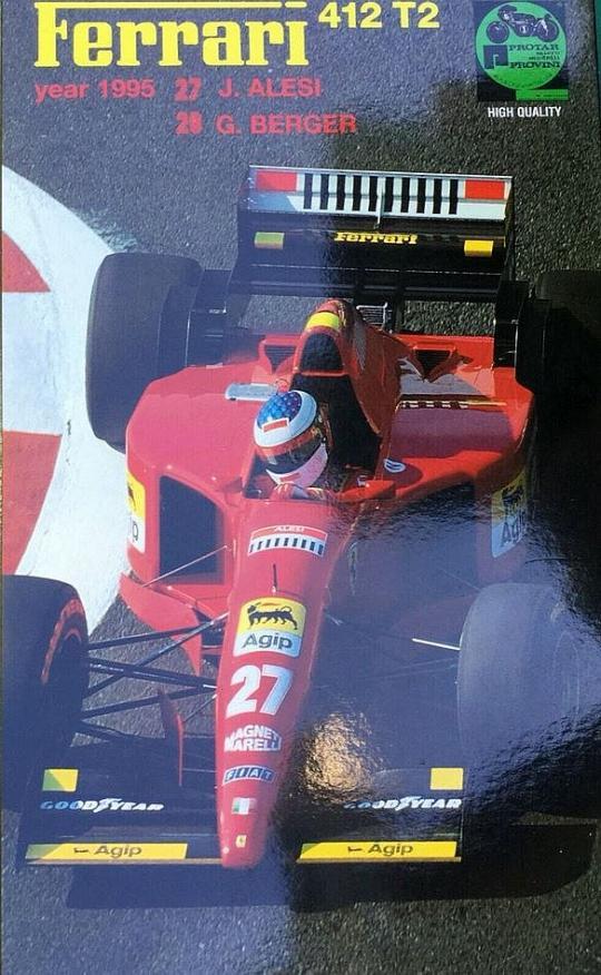 Ferrari 412 T2. High Quality Kit