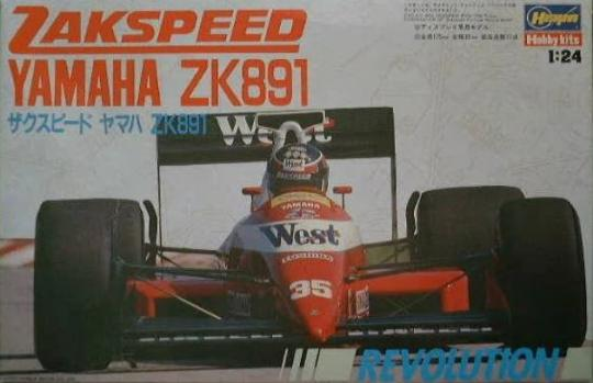 Zakspeed Yamaha ZK891