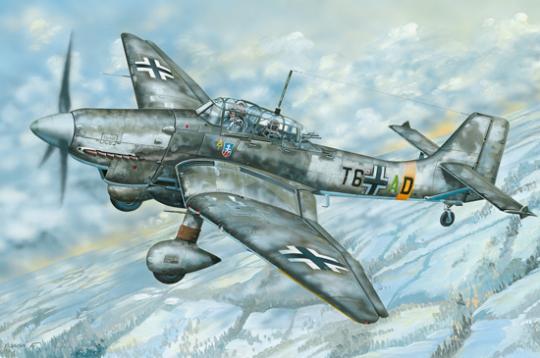 Junkers Ju-87D Stuka