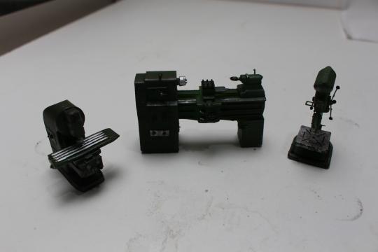 Maschinen Set für Werkstatt