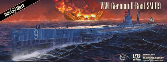 S.M. U-Boot 9 - WWI German Submarine