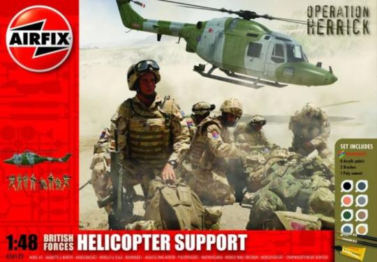 British Forces Helicopter Support Set Operation Herrick